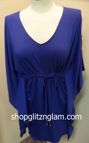 Royal Blue Summer Beach Dress