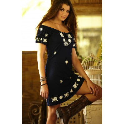Union of Angels Savanna Black Dress