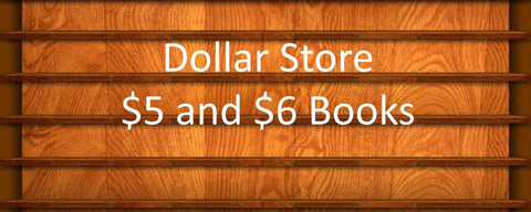$6 Books, CDs and DVDs