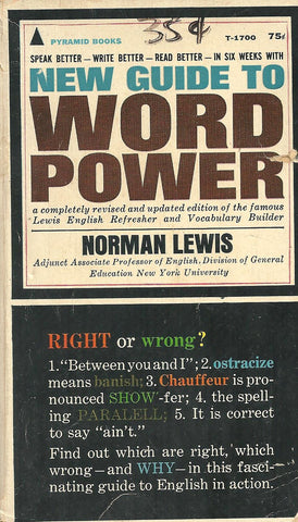 New Guide to Word Power