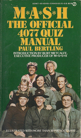 MASH The Official 4077 Trivia Manual