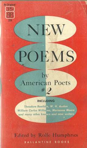 New Poems by American Poets #2