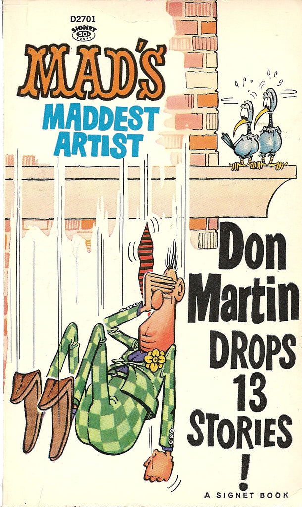 Don Martin Drops 13 Stories