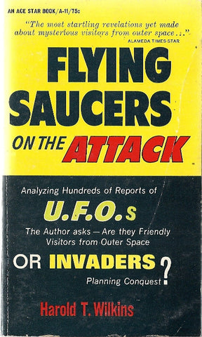 Flying Saucers on the Attack
