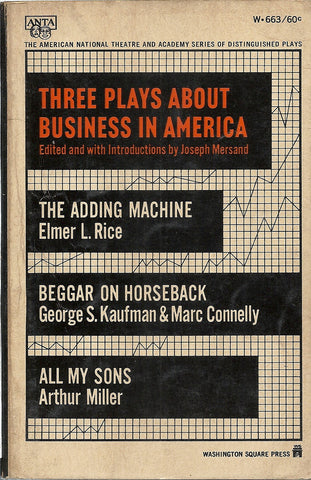 Three Plays About Business in America