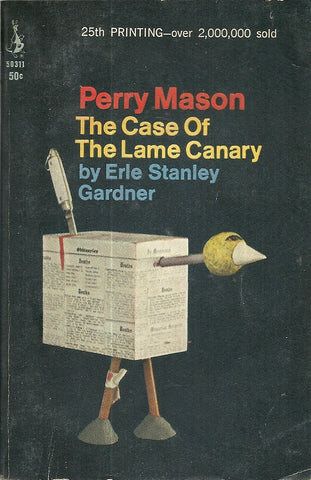 Perry Mason The Case of the Lame Canary 1966 Very Good Plus