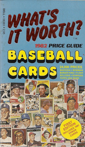 1982 Price Guide to Baseball Cards
