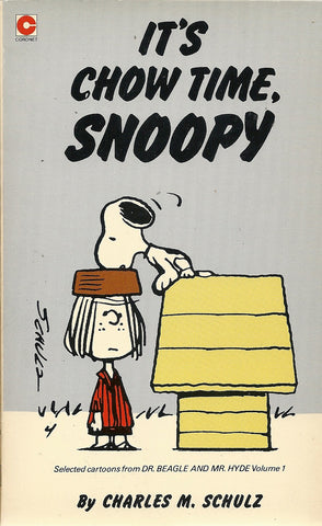 it's Chow Time, Snoopy