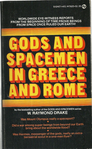 Gods and Spacemen in Greece and Rome