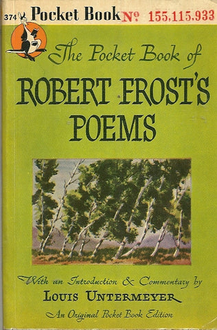 The Pocket Book of Robert Frost Poems