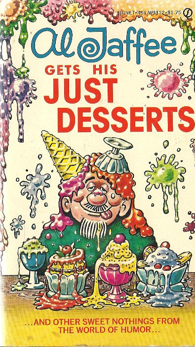 Al Jaffee Gets His Just Desserts