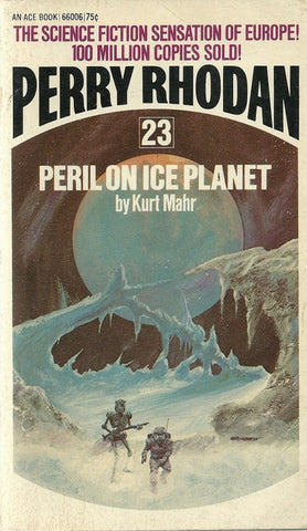Perry Rhodan #23 Peril On Ice Planet