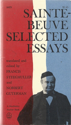 Sainte  Beuve Selected Essays