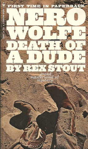 Death of a Dude Nero Wolfe
