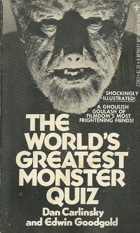 The World's Greatest Monster Quiz