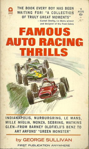 Famous Auto Racing Thrills
