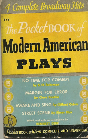The Pocket Book of Modern American Plays