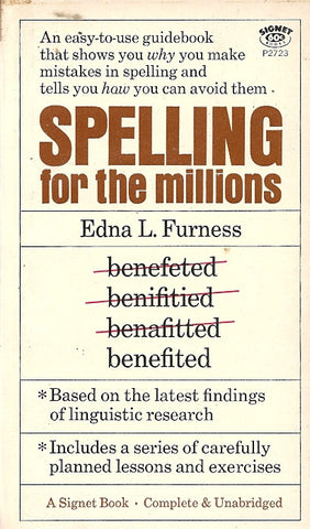 Spelling for the Millions