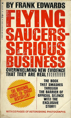 Flying Saucers Serious Business