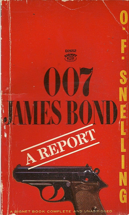 007 James A Bond Report
