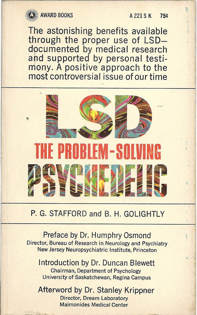 LSD The problem Solving Psychedelic