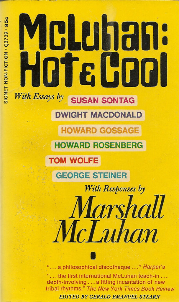 McLuhan: Hot and Cool