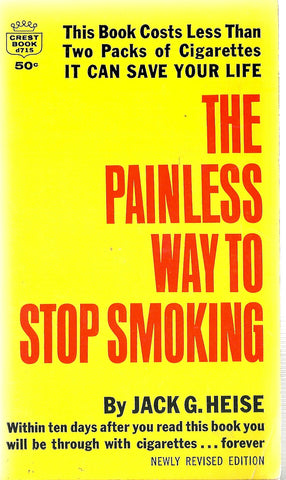 The Painless Way To Stop Smoking