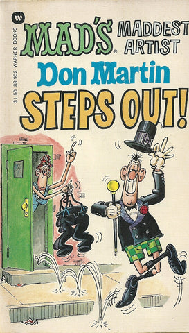 Don Martin Steps Out!