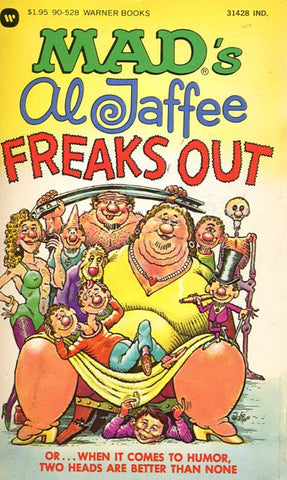 Mad's Al Jaffee Freaks Out