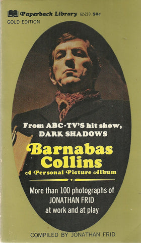 Dark Shadows Barnabas Collins A Personal Picture Album