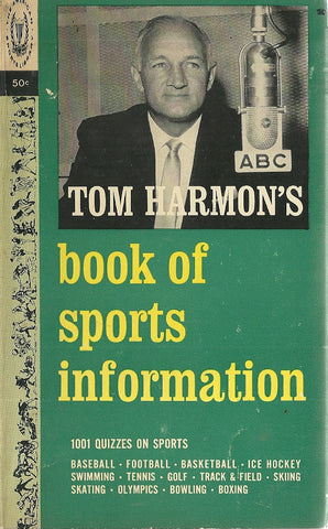 Tom Harmon's Book of Sports Information