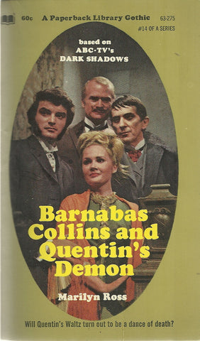 Dark Shadows 14 Barnabas Collins and Quentin's Demon