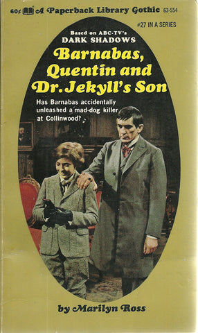 Dark Shadows 27 Barnabas Collins, Quentin and Dr. Jekyll's Son