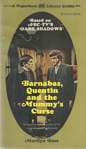 Dark Shadows 16 Barnabas Collins, Quentin and the Mummy's Curse