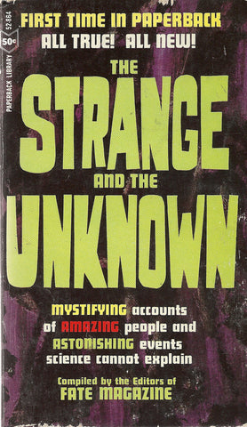 The Strange and the Unknown