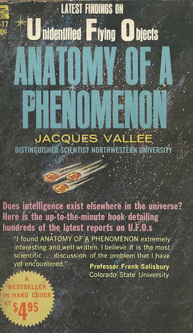 Anatomy of a Phenomenon Latest Findings on UFOs