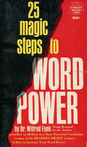 25 Magic Steps to Word Power