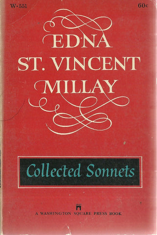 Edna St. Vincent Millay Collected Sonets