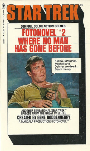 Star Trek Fotonovel #2 Where No Man Has Gone Before