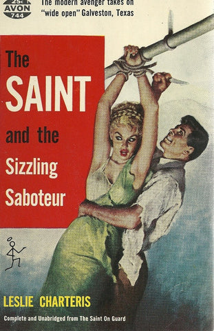 The Saint and the Sizzling Saboteur
