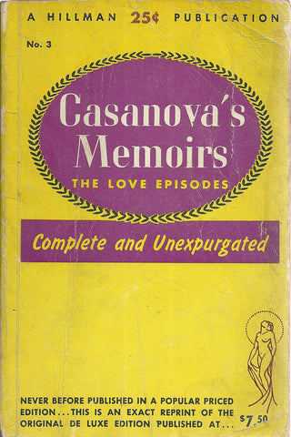 Casanova's Memoirs The Love Episodes