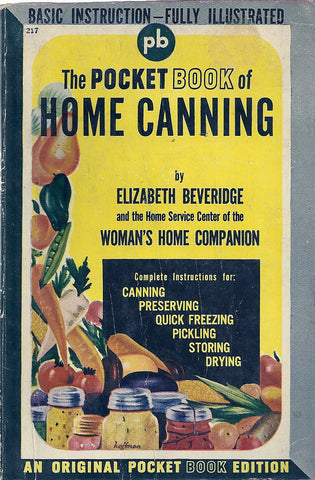 The Pocket Book of Home Cooking
