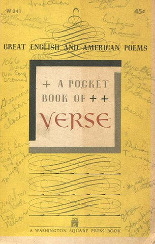 A Pocket Book of Verse