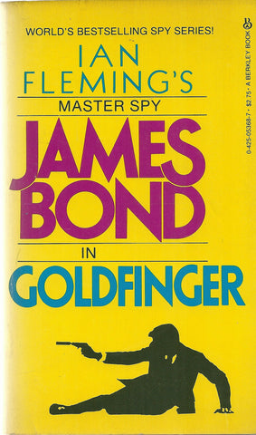 James Bond in Goldfinger