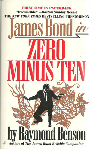 James Bond in Zero Minus Ten