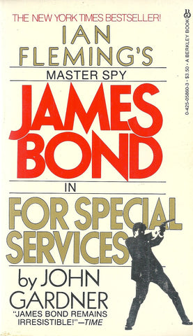 James Bond in For Special Services