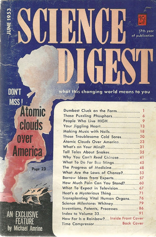 Science Digest June 1953