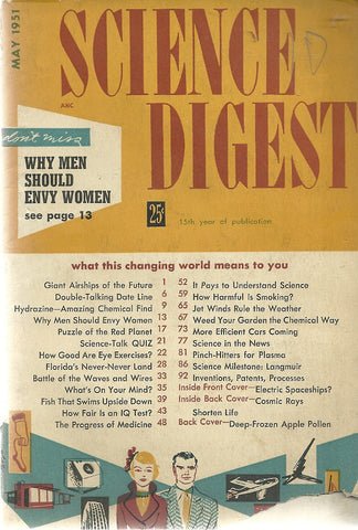 Science Digest May 1951