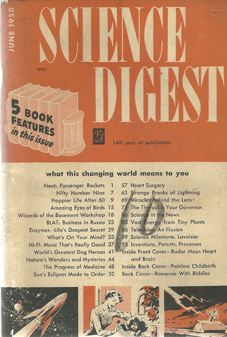 Science Digest June 1950