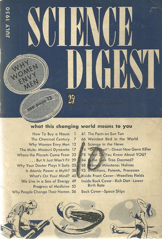 Science Digest July 1950